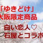 「ゆきどけ」大丸心斎橋に大阪限定のお土産!白い恋人は?場所や値段は?